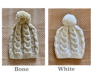 Image of Nanny's hand knitted  Beanie