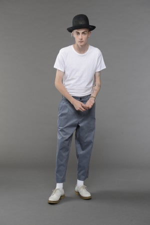 Image of California Summer Corduroy Trouser LIGHT BLUE £195.00