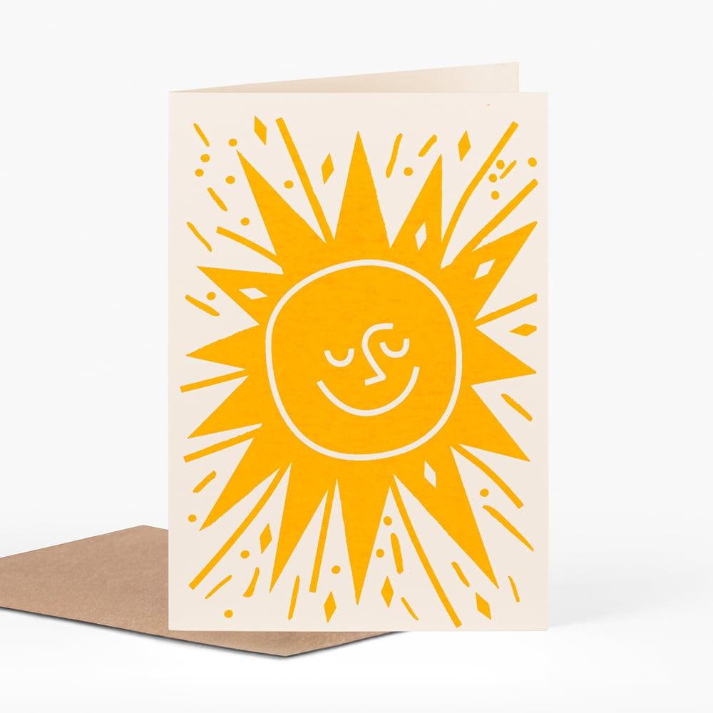 Image of Sun Card