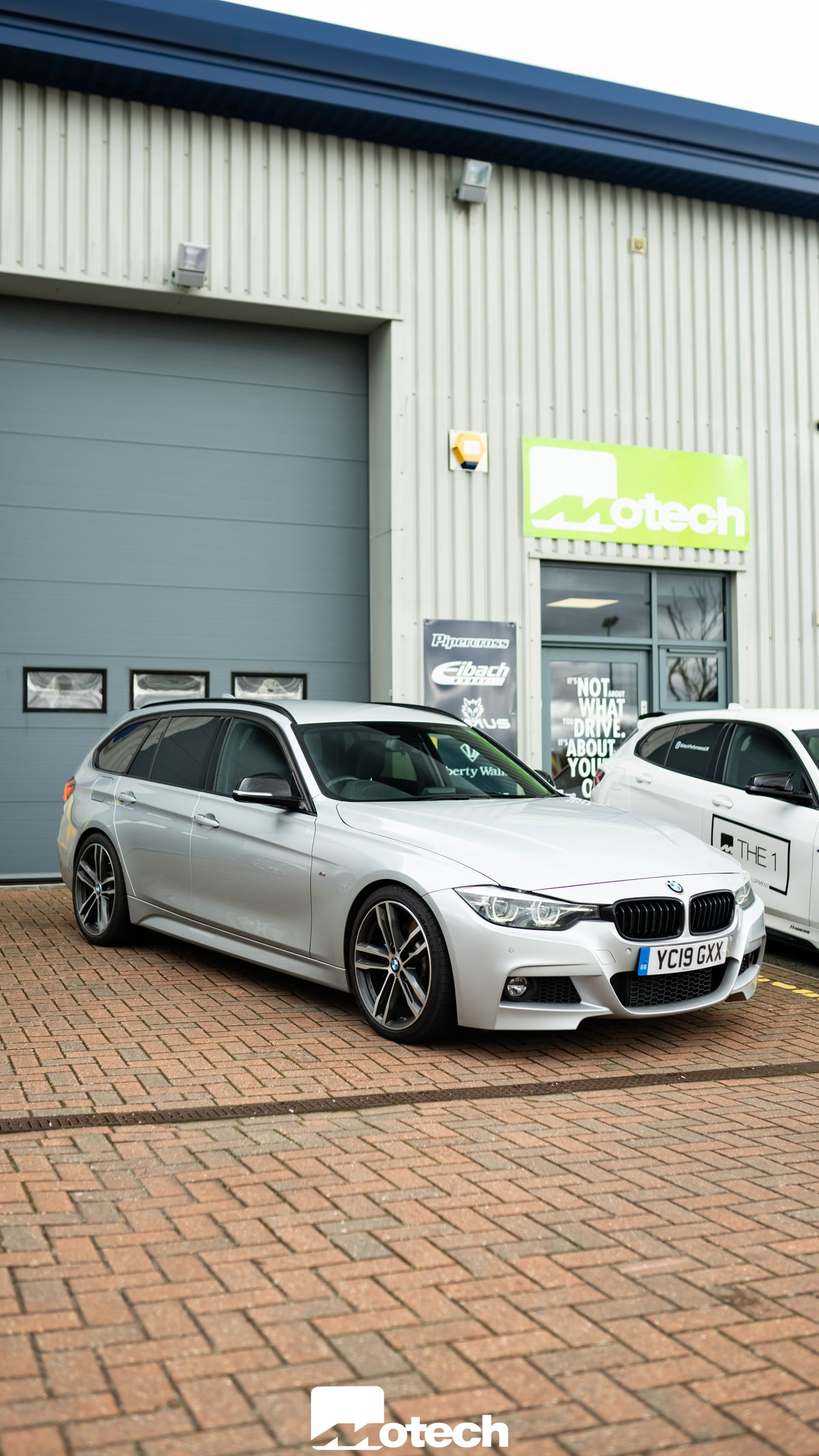 Image of BMW 335d 340i Touring Eibach Lowering Springs