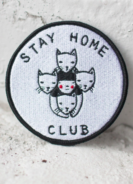 Image of Stay Home Club patch