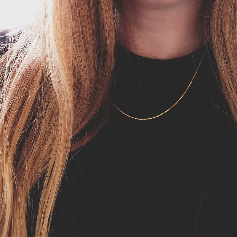 Image of *NEW* Beam Necklace in gold