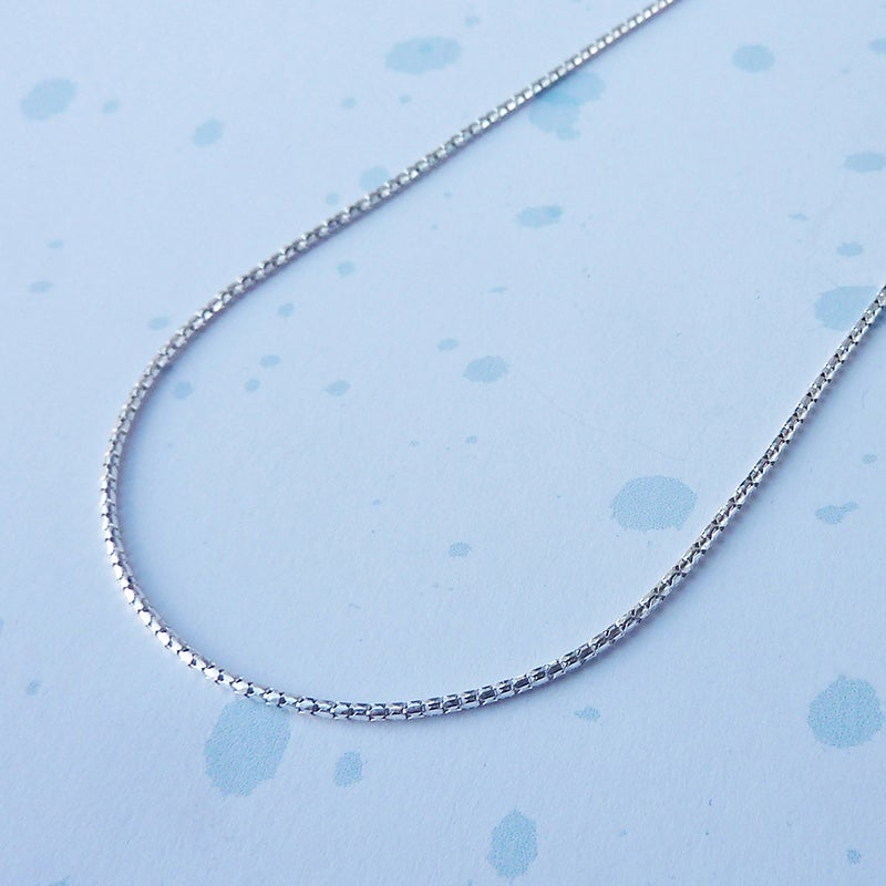 Image of Beam Necklace in sterling silver