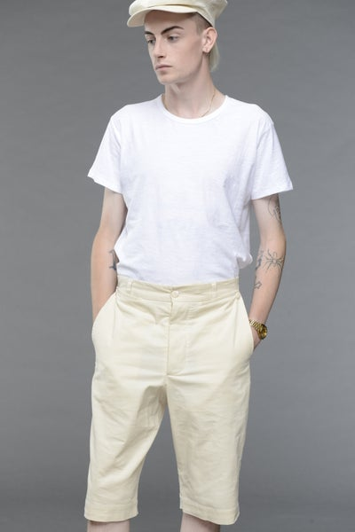 Image of California Summer Corduroy shorts STONE £185.00