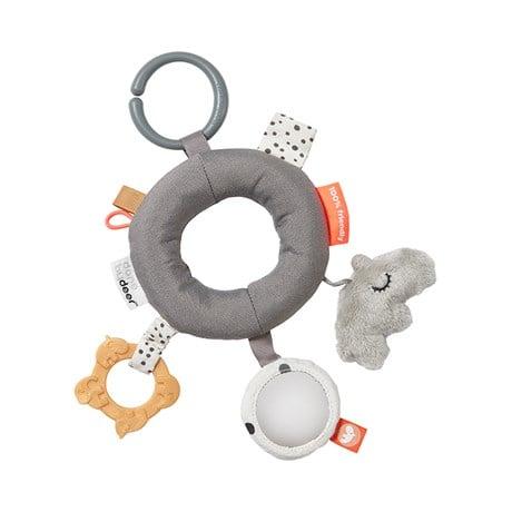 Image of Hochet anneau d'activités rose ou gris