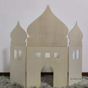 Image of Mini Masjid Silhouette Stand