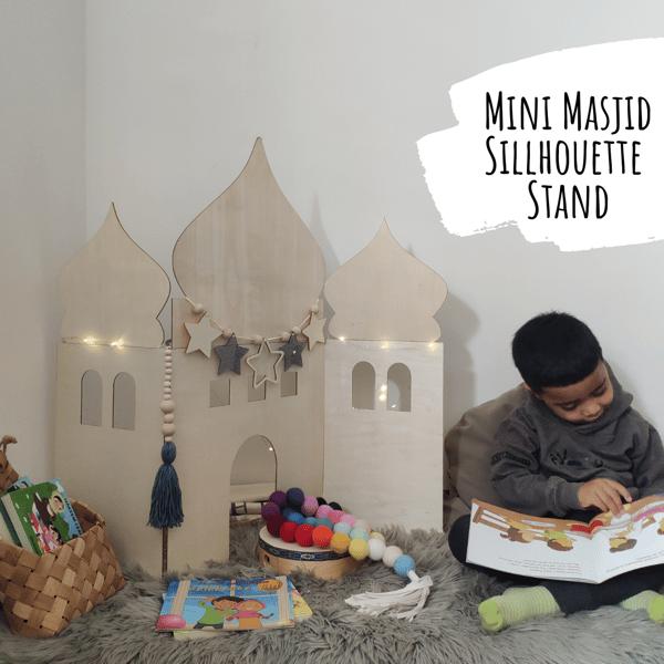 Image of Mini Masjid Silhouette Stand