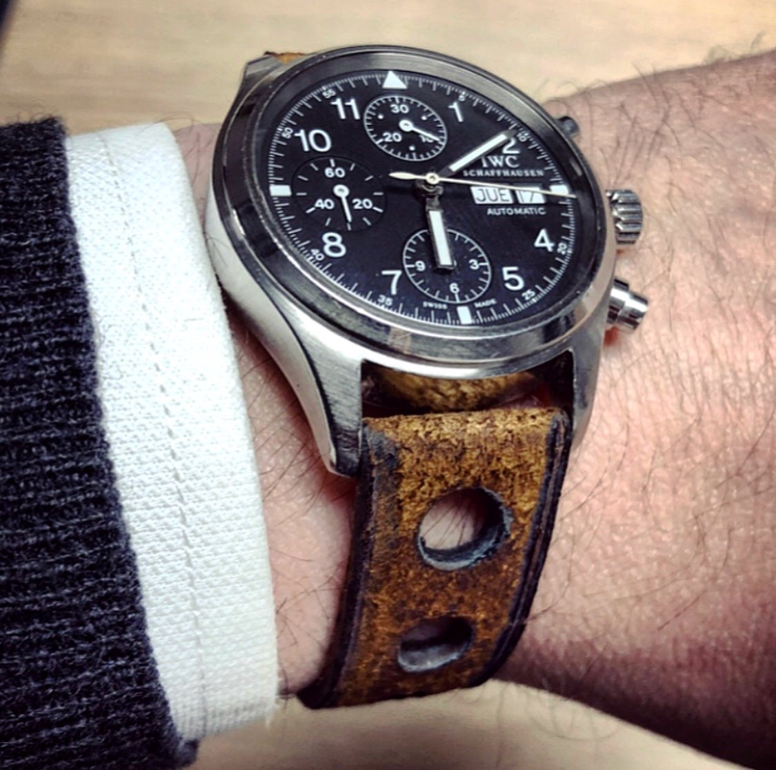 Image of Boar rally watchstrap