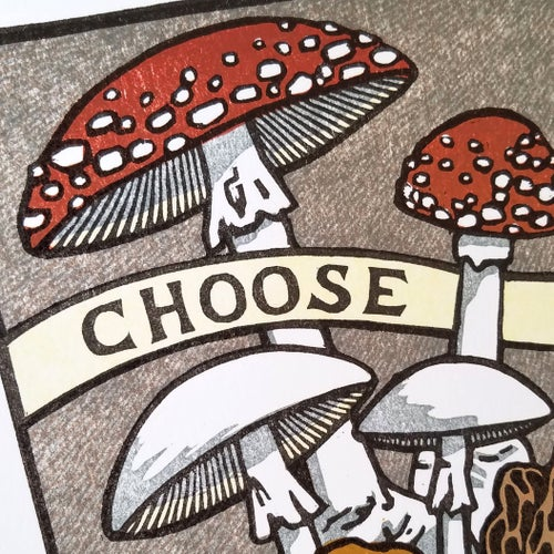 Image of Choose Wisely Reduction Print