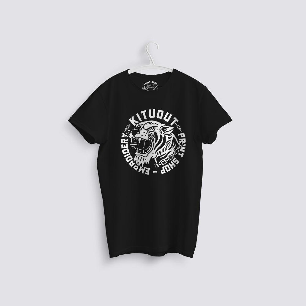 Image of Tiger Kituout Work Shop T-Shirt