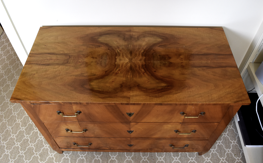 Image of 19th Century Louis XVI Style Walnut Commode