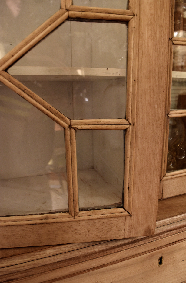 Image of Bleached Georgian Bookcase