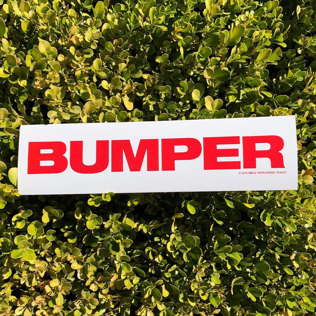 Image of Bumper Bumper Sticker