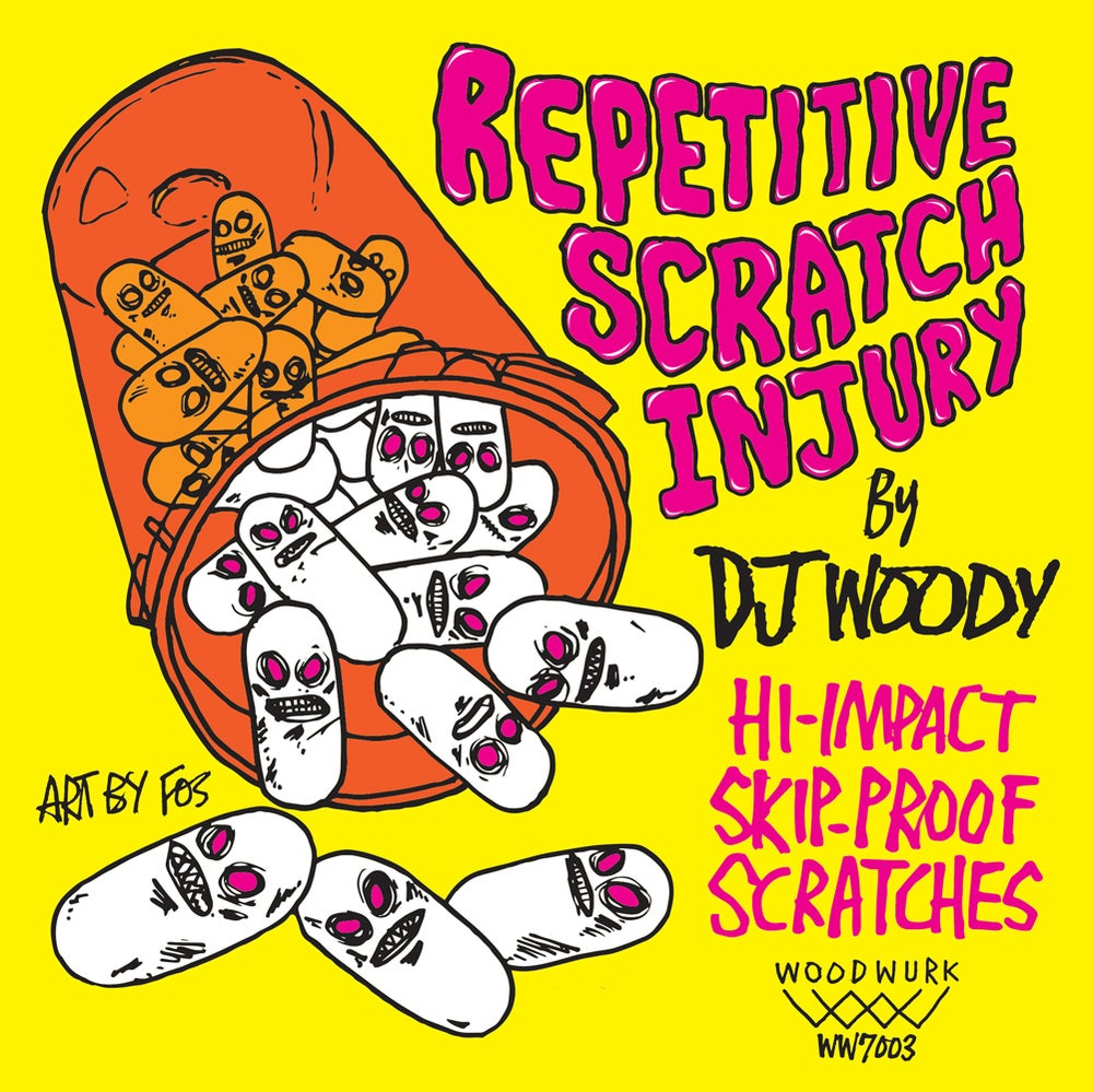 "7"" Vinyl - Repetitive Scratch Injury (Pink Vinyl)"