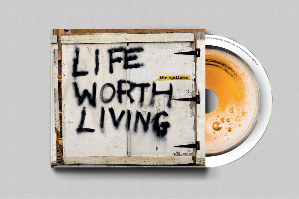 Image of The Spitfires - Life Worth Living (Softpack CD)