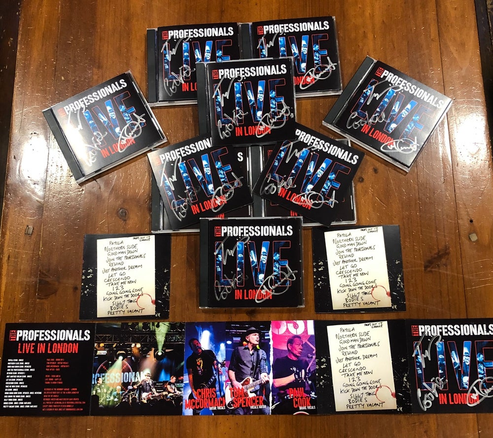 Image of The PROFESSIONALS Live In London CD