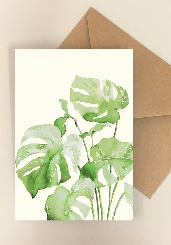Image of 5 Notecards - Folded - No. 1018