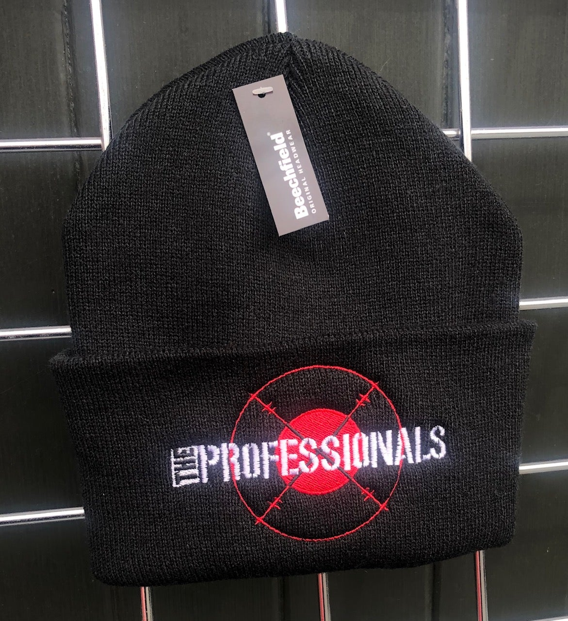 Image of The PROFESSIONALS 'Target' Embroidered Beenie Hat