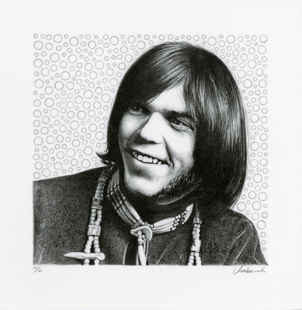 Image of NEIL YOUNG giclée print
