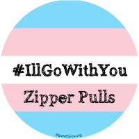 Image of #IllGoWithYou Zipper Pull/Purse Charm