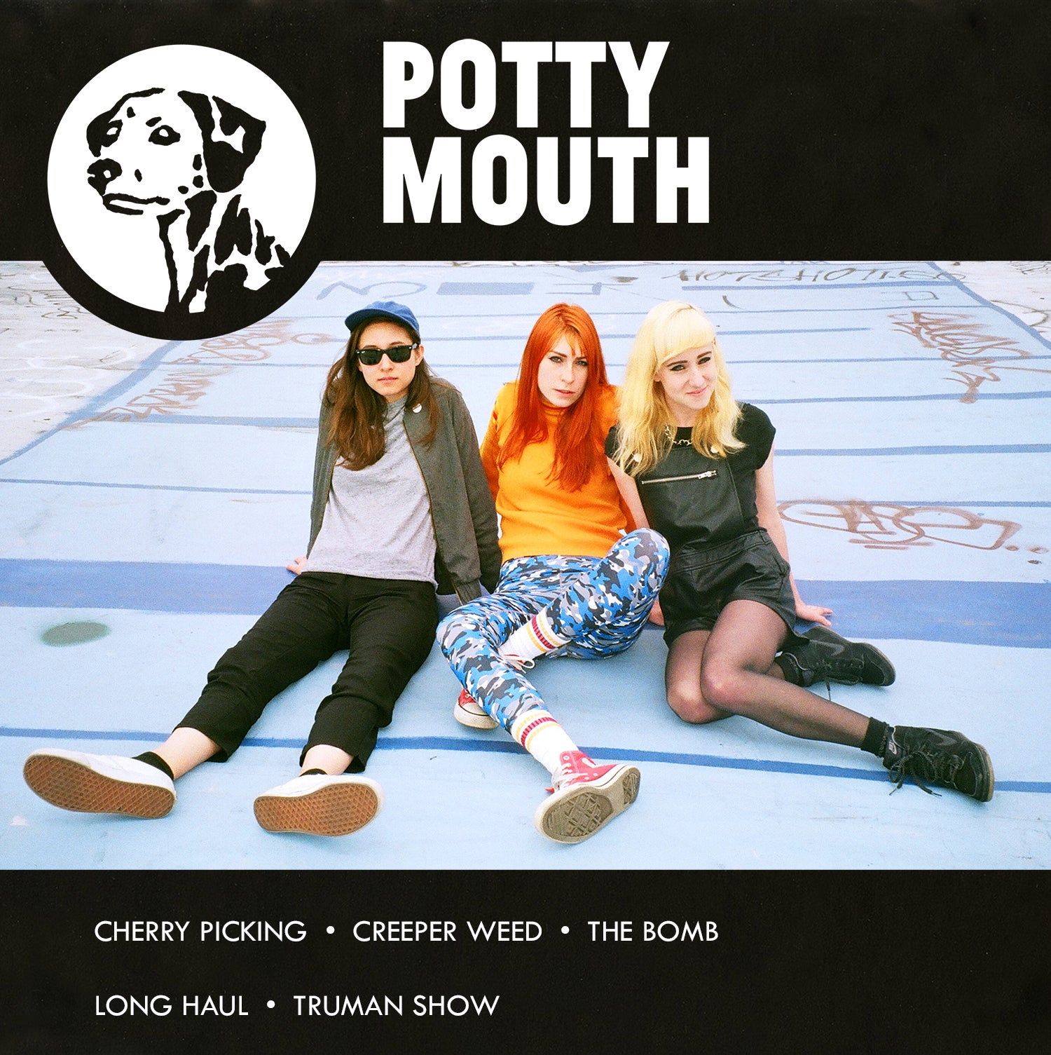 Image of POTTY MOUTH SELF-TITLED EP/CD (2015)
