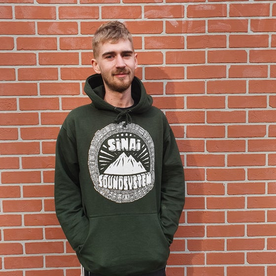 Image of Sinai Sound x Tribes : Hooded Sweatshirt - Green