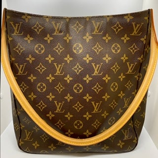 Image of Louis Vuitton Monogram Looping Bag GM Made In France