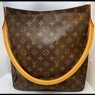 Image of Louis Vuitton Monogram Looping Bag GM Made in USA