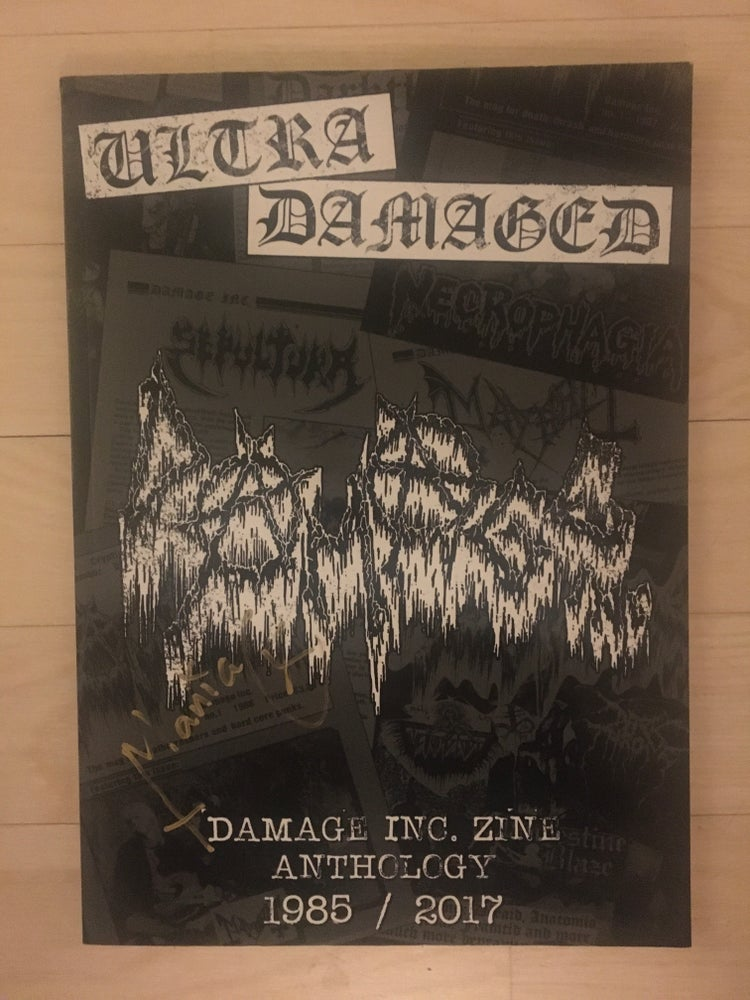 Image of Ultra Damaged!! All 3 damage inc.Signed