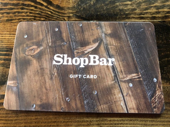 Image of ShopBar Gift Card
