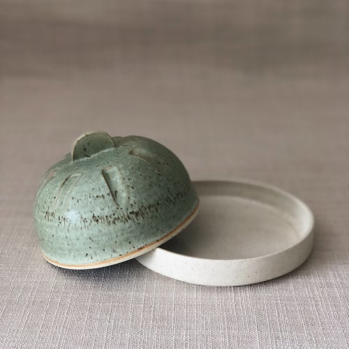 Image of NATURE BUTTER DISH