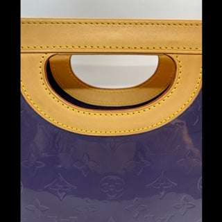 Image of Louis Vuitton Indigo Monogram Vernis Stillwood Vertical Bag