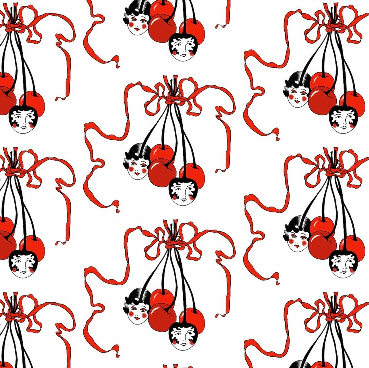 Image of Cherry ladies Print