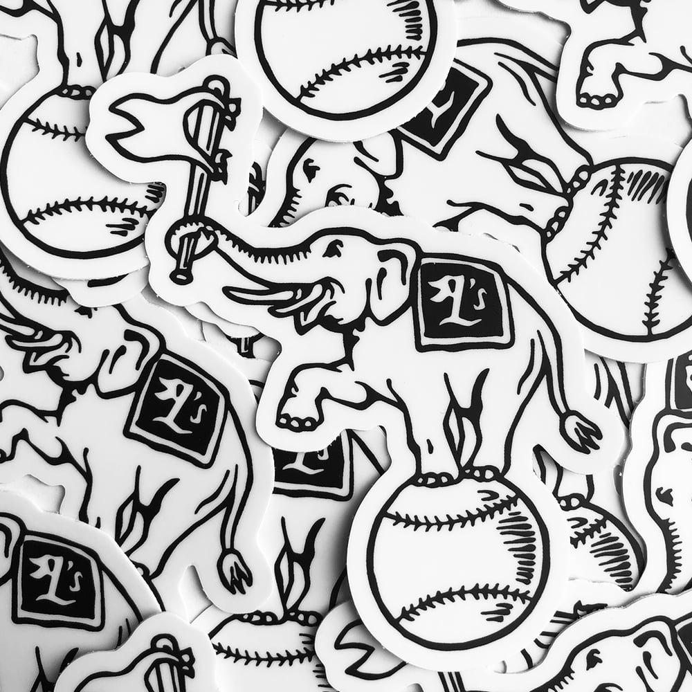 "Image of ""Oakland L's"" Sticker"