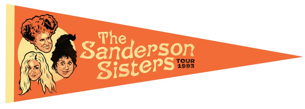 The Sanderson Sisters Pennant
