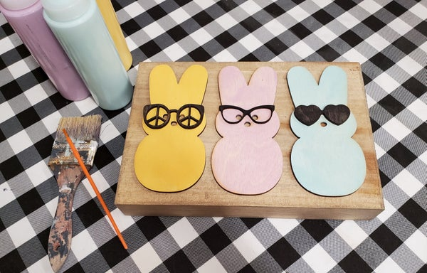 Image of Craft at Home Kit - 3D Sunglasses Peeps Sign