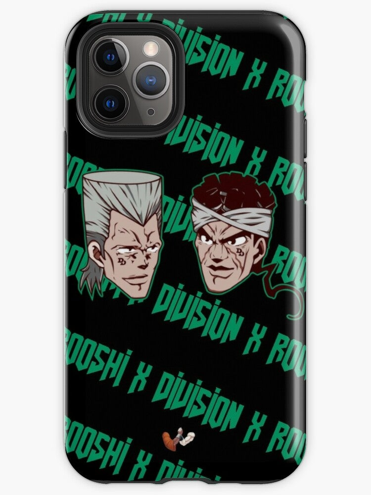 Image of Rooshi X Division JoJo Iphone Case
