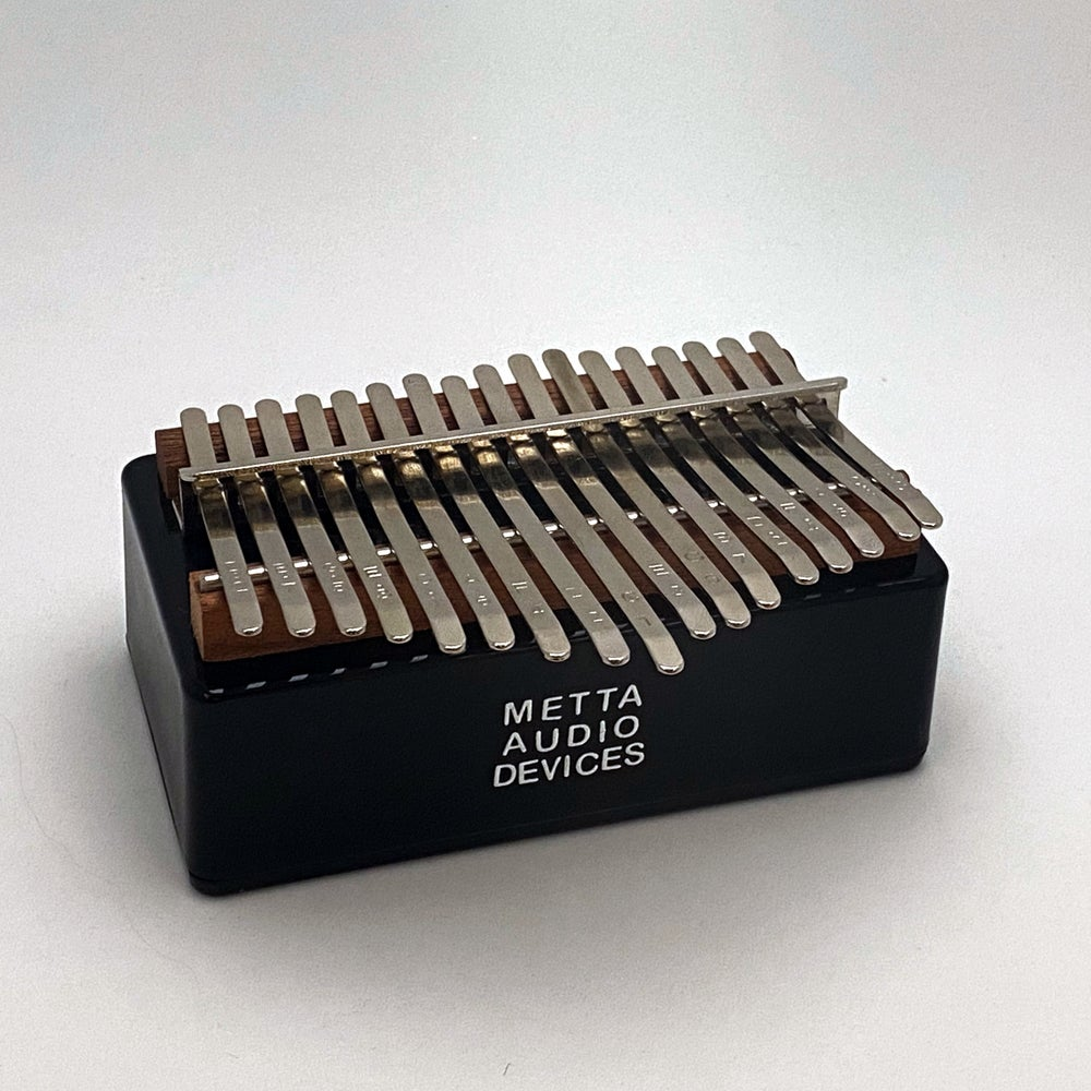 Image of Metta Electric Kalimba / Handheld Thumb Piano Acoustic Electric Instrument