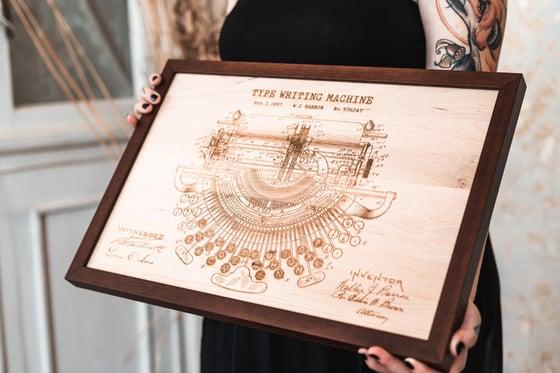Image of Typewriter Blueprint