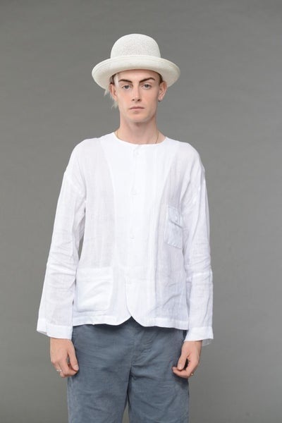 Image of The PRINTMAKER Shirt White £210.00