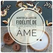 Image of Carte de fidélité Suppléments d'âme