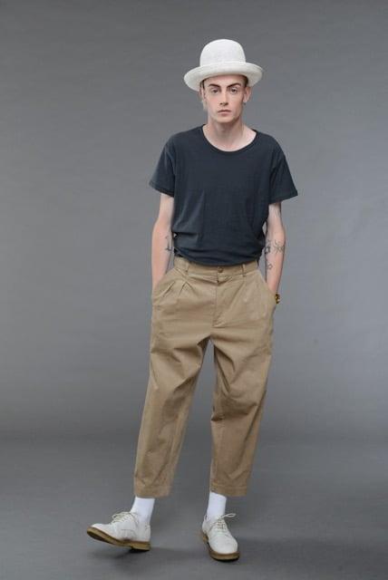 Image of California Summer Corduroy Trouser BEIGE