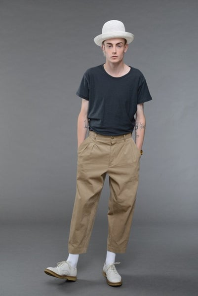 Image of California Summer Corduroy Trouser BEIGE