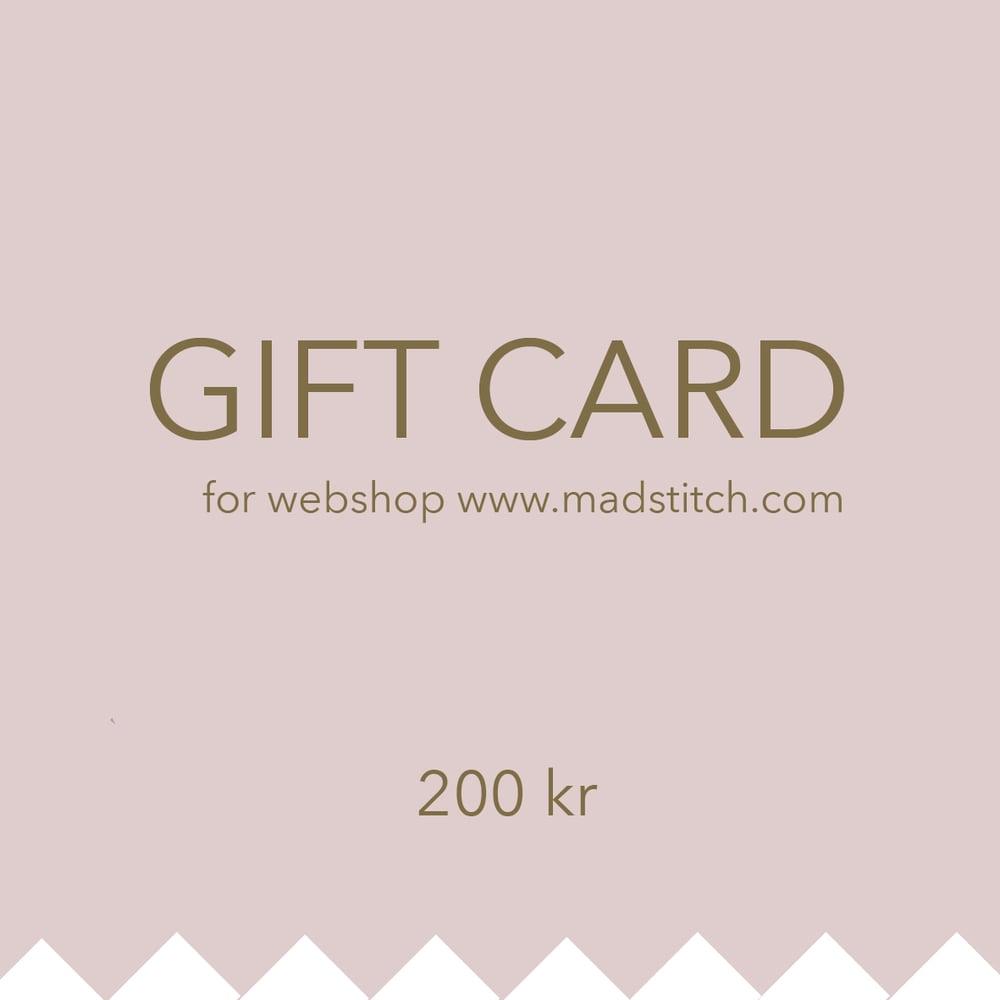 Image of Giftcard 200 DKK