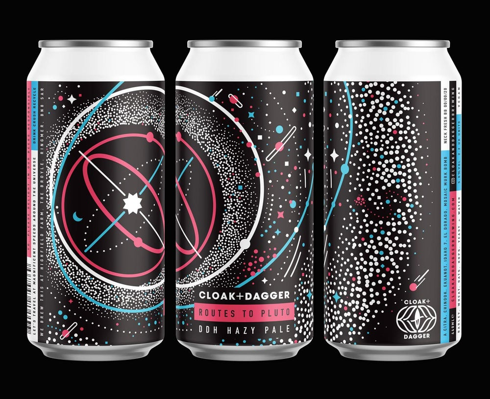 Image of Routes To Pluto - 5% DDH Hazy Pale