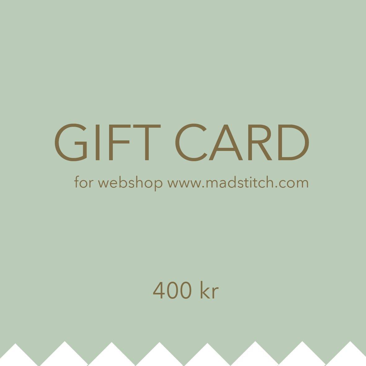 Image of Giftcard 400 DKK