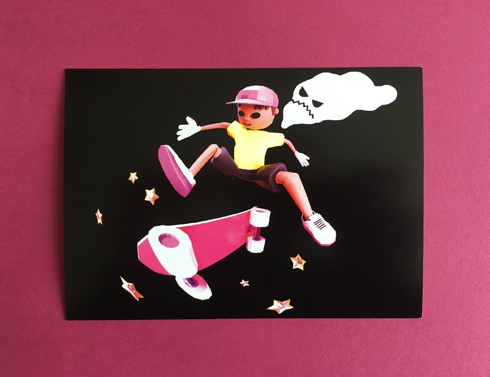 Image of Heelflip – Postcard