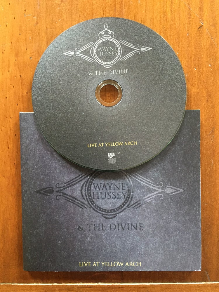 Image of Wayne Hussey & The Divine - Live at Yellow Arch CD