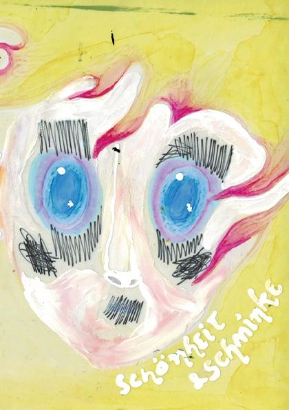"""Image of Zine + Print """"Schönheit & Schminke"""""""