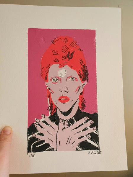 Image of David Bowie original #1